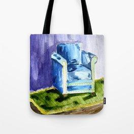Sad Chair Tote Bag