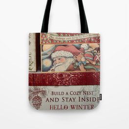 Christmas design with gift boxes Tote Bag