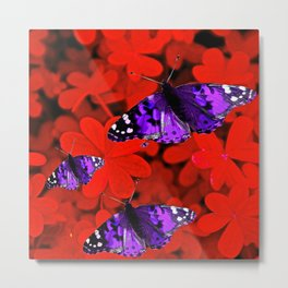 Butterflies are Free To Fly #3 Metal Print