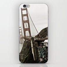 The Golden Gate iPhone & iPod Skin