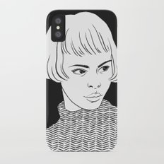 Chic Lady Slim Case iPhone X