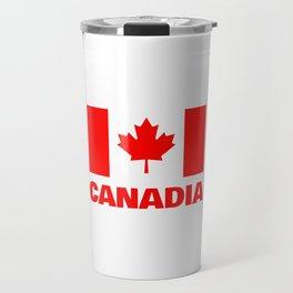 Canadia - Canadan Flag Travel Mug