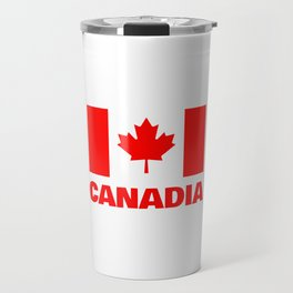 Canadia - Canadan Flag Travel Mug