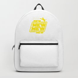 Cat Mew Mew Mew Backpack