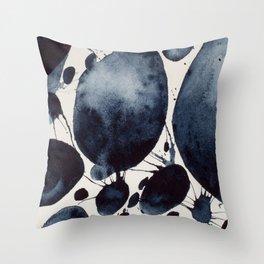 Black Study Throw Pillow