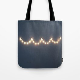 Hangin' lights Tote Bag