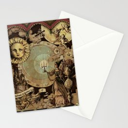 The mediaeval theater Stationery Cards