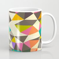 mod Mugs featuring Mod Tris by Beth Thompson