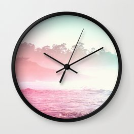 Summer on the Coast Wall Clock