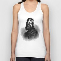 wrestling Tank Tops featuring WRESTLING MASK 9 by DIVIDUS