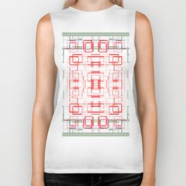 HK tablecloth Biker Tank