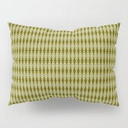 Sacramento Tower Bridge Golden Yellows pattern Pillow Sham