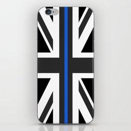 Thin Blue Line UK Flag iPhone Skin