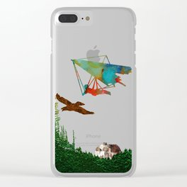 Fly together Clear iPhone Case