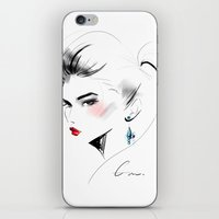 gem iPhone & iPod Skins featuring Gem by putemphasis