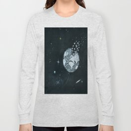 Blowing in Space Long Sleeve T-shirt