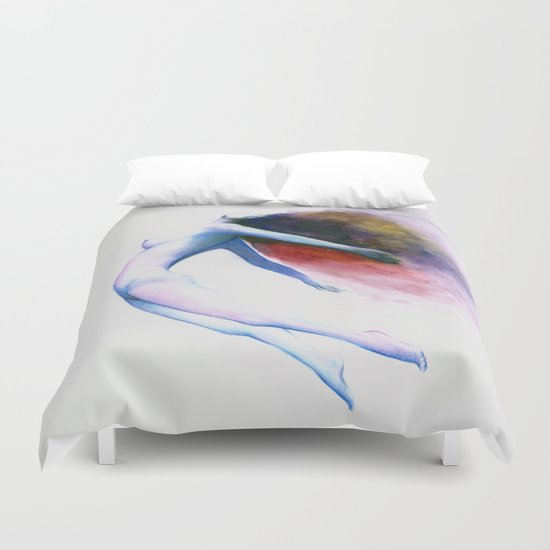 Wave of Love Duvet Cover