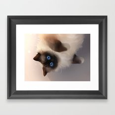 Upside down Framed Art Print