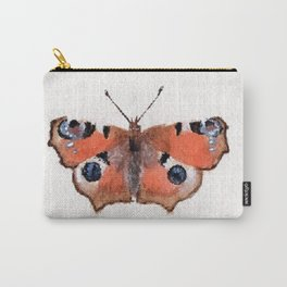 Peacock Butterfly Carry-All Pouch
