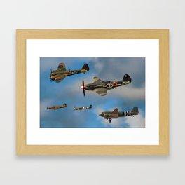 Vintage Aircraft Framed Art Print