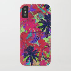 Tropical Palm Slim Case iPhone X