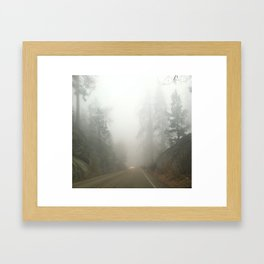Road Trip to Sequoia Framed Art Print