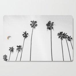 Black + White Palms Cutting Board