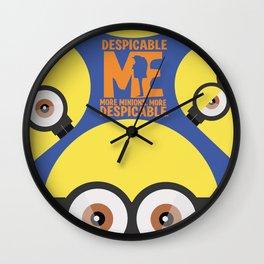 Despicable Me - Cartoon Altenrative Poster Wall Clock