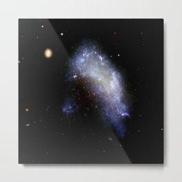Irregular galaxy NGC 1427A (NASA/ESA Hubble Space Telescope) Metal Print