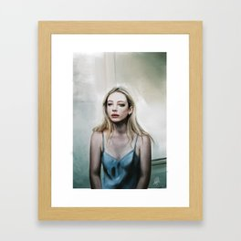 Dreamt of you but woke up alone. Framed Art Print