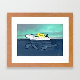 Global Roaming Framed Art Print