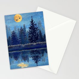 Denim Design Pine Barrens Reflection Stationery Cards