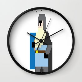 The Dark (Ages) Knight Rises Wall Clock