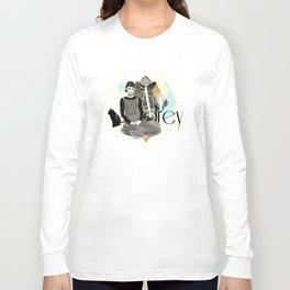 Divas: Audrey Hepburn. Long Sleeve T-shirt