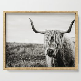 Highland Cow Serving Tray