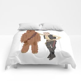 Han Solo and Chewbacca Comforters