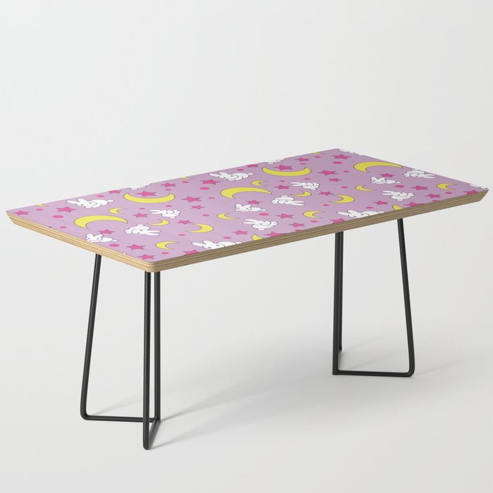 Usagi S Pattern Old Style Coffee Table