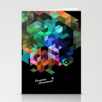 tetris Stationery Cards featuring TETRIS by Creative Streetwear
