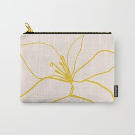 Flower Trio Carry-All Pouch