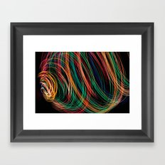 Rainbow colors Framed Art Print