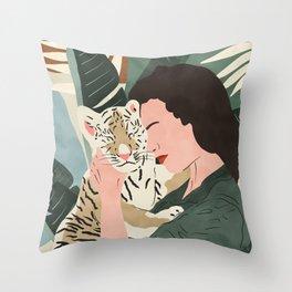 Wild feeling I Throw Pillow