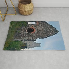 Quincy Hill Mine Shaft and Ruins Rug