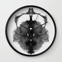 Form Ink Blot No. 12 Wall Clock