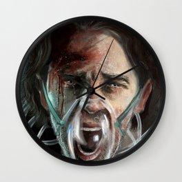 Scream Wall Clock