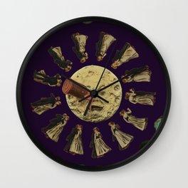 Dancing on the Moon Wall Clock