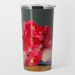 Flowers on the Table Travel Mug