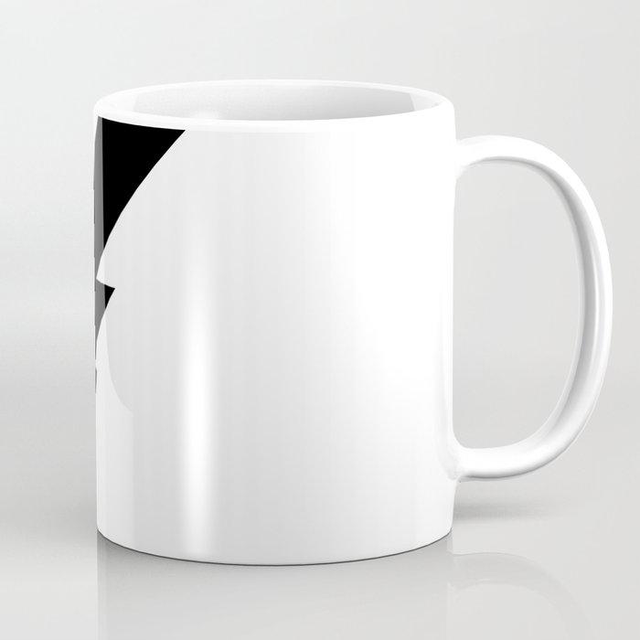 Black Lightning Coffee Mug
