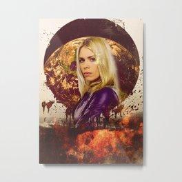 Doctor Who: Rose Tyler Metal Print