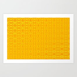 0108 Patternwall  1 Art Print