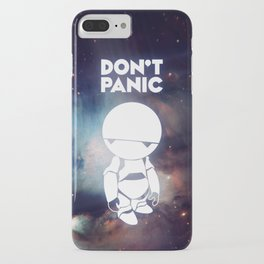 Don't Panic Marvin iPhone Case